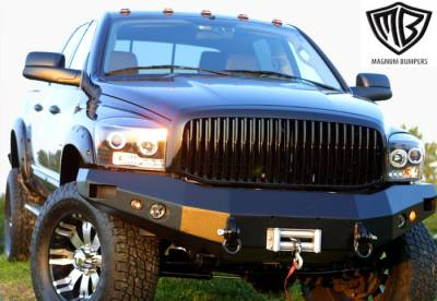 ICI - Ford Superduty ICI Front Winch Bumper - Black Finish - FBM05FD