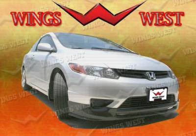Wings West - Honda Civic Wings West Type R Concept Complete Body Kit - 4PC - 490195