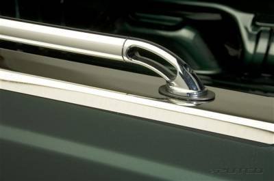Putco - Chevrolet Silverado Putco Locker Side Rails - 89889