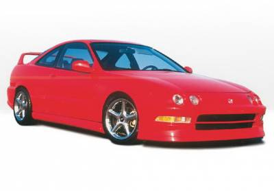 Wings West - Acura Integra 2DR Wings West Racing Series Complete Body Kit - 4PC - 890082