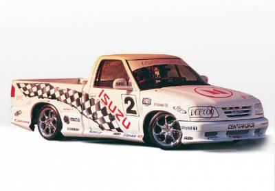 VIS Racing - Isuzu Hombre VIS Racing Custom Style Complete Body Kit - 8PC - 890124