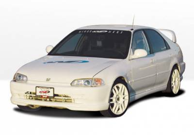 VIS Racing - Honda Civic 4DR VIS Racing Racing Series Complete Body Kit - 4PC - 890141