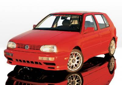 Wings West - Volkswagen Golf Wings West Custom Style Complete Body Kit - 4PC - 890143