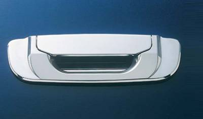 All Sales - All Sales Polished Billet Tailgate Handle Kit - 403