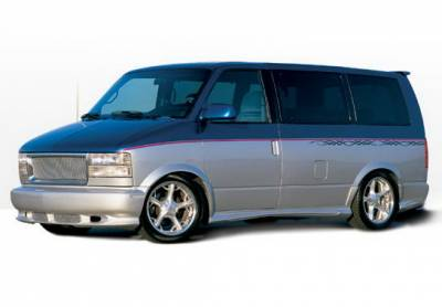 Wings West - Chevrolet Astro Wings West W-Type Complete Body Kit - 4PC - 890215