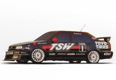 Wings West - Volkswagen Jetta Wings West Touring Complete Body Kit - 4PC - 890224