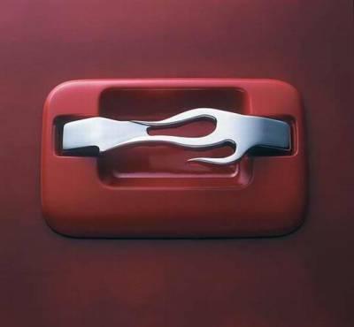 All Sales - All Sales Billet Door Flame Handle Kit - 571