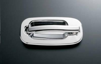 All Sales - All Sales Billet Door Handle Rear Door Handle Left and Right Side without Lock - 902