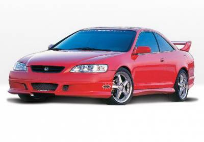 Wings West - Honda Accord 2DR Wings West W-Type Complete Body Kit - 4PC - 890282