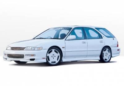 VIS Racing - Honda Accord Wagon VIS Racing W-Type Complete Body Kit - 4PC - 890322