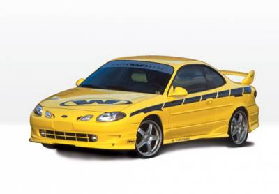 Wings West - Ford ZX2 Wings West W-Type Complete Body Kit - 4PC - 890381