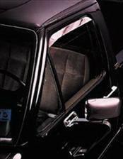 AVS - Toyota 4Runner AVS Ventshade Deflector - Stainless - 2PC - 12123