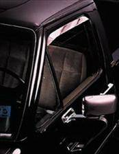 AVS - Jeep Wrangler AVS Ventshade Deflector - Stainless - 2PC - 12642