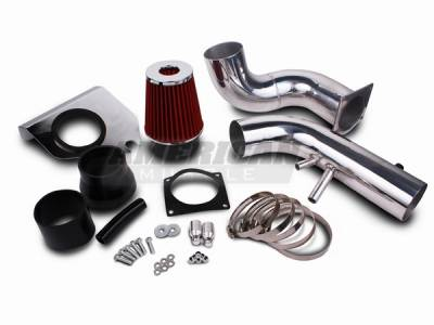 AM Custom - Ford Mustang GT Cold Air Intake Kit - 14001