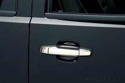 Putco - Chevrolet Silverado Putco Door Handle Covers - 400096