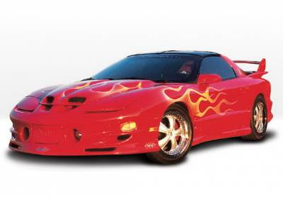 Wings West - Pontiac Trans Am Wings West W-Type Complete Body Kit - 5PC - 890481
