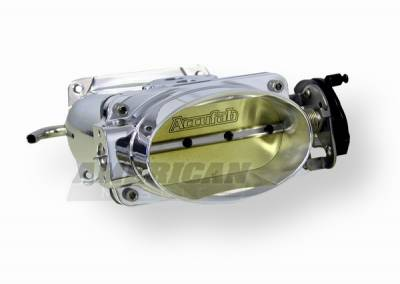 Accufab - Ford Mustang Accufab Throttle Body & Power Inlet - Polished - 15007