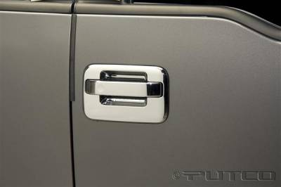 Putco - Ford F150 Putco Door Handle Covers - 401007