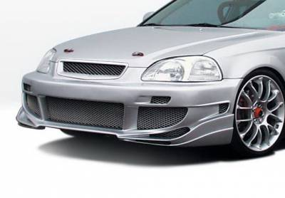 Wings West - Honda Civic 4DR Wings West Avenger Complete Body Kit - 4PC - 890513