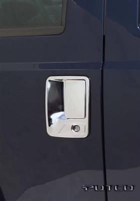 Putco - Ford F250 Superduty Putco Door Handle Covers - 401009
