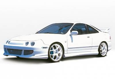 Wings West - Acura Integra 2DR Wings West Bigmouth Complete Body Kit - 4PC - 890515