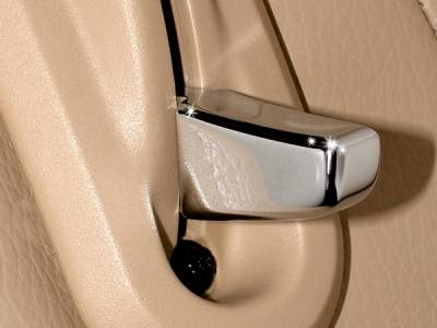 Action Artistry - Ford Mustang Action Artistry Chrome Seat Release Levers - 15524