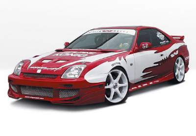 Wings West - Honda Prelude Wings West Avenger Complete Body Kit - 4PC - 890548
