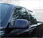 AVS - Chevrolet Silverado AVS Ventvisor Deflector - Rear - 2PC - 15749