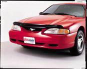 AVS - Ford Mustang AVS Carflector Hood Shield - Smoke - 20520