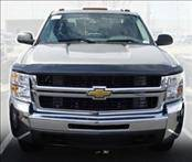 AVS - Chevrolet Silverado AVS Hoodflector Shield - Smoke - 21154