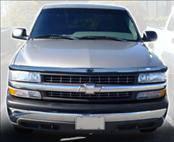 AVS - Chevrolet Silverado AVS Hoodflector Shield - Smoke - 21936
