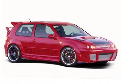 VIS Racing - Volkswagen Golf GTI VIS Racing G-Spec Full Body Kit with Extreme Flares - 11PC - 890721