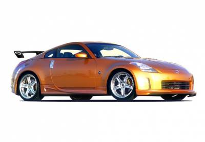 VIS Racing - Nissan 350Z VIS Racing Z-Spec Complete Body Kit - 4PC - 890782
