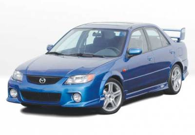 VIS Racing - Mazda Protege VIS Racing Complete Body Kit - 4PC - 890789