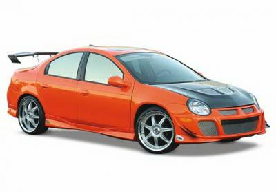 Wings West - Dodge Neon Wings West Racing Series Complete Body Kit without Flares - 8PC - 890810