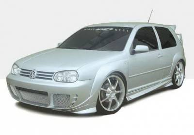 Wings West - Volkswagen Golf Wings West G-Spec Complete Body Kit - 6PC - 890811