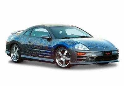 Wings West - Mitsubishi Eclipse Wings West W-Type Complete Body Kit - 4PC - 890815