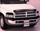 AVS - Dodge Dakota AVS Bugflector I Hood Shield - Smoke - 23095