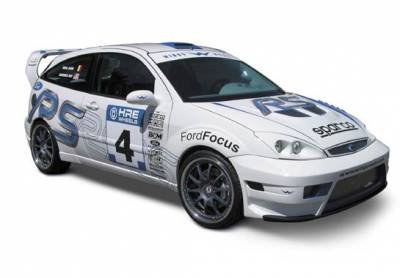 VIS Racing - Ford Focus ZX3 VIS Racing WRC Complete Body Kit with Flares & WRC Wing - 6PC - 890847