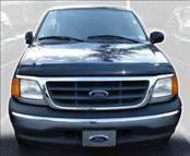 AVS - Ford F150 AVS Bugflector I Hood Shield - Smoke - 23454