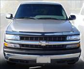 AVS - Chevrolet Silverado AVS Bugflector I Hood Shield - Smoke - 23827
