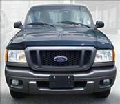 AVS - Ford Ranger AVS Bugflector II Hood Shield - Smoke - 24051