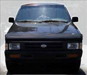AVS - Nissan Pickup AVS Bugflector II Hood Shield - Smoke - 24224