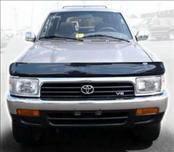 AVS - Toyota 4Runner AVS Bugflector II Hood Shield - Smoke - 24247