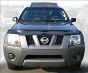 AVS - Nissan Xterra AVS Bugflector II Hood Shield - Smoke - 24557