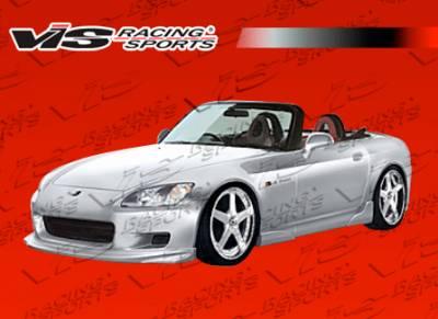 VIS Racing - Honda S2000 VIS Racing Vader Full Body Kit - Polyurethane - 00HDS2K2DVAD-099P