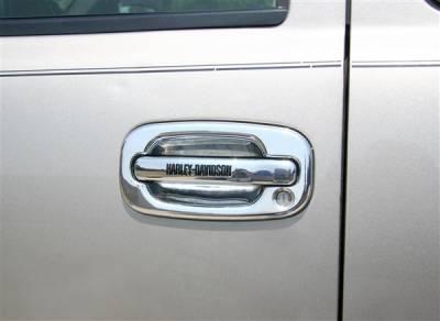 Putco - Chevrolet Silverado Putco Harley-Davidson Door Handles - Lettering - 407001