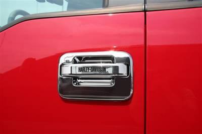 Putco - Ford F150 Putco Harley-Davidson Door Handles - Lettering - 407005