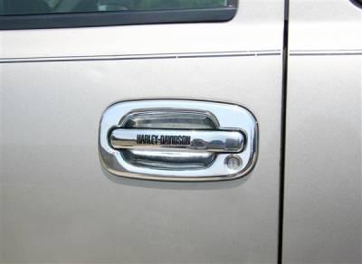 Putco - Chevrolet Silverado Putco Harley-Davidson Door Handles - Lettering - 407011