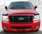 AVS - Ford F150 AVS Bugflector II Hood Shield - Smoke - 25033